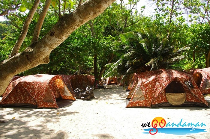 Surin Island Tent & Surin Islands Overnight Snorkeling Tour. Package Tour