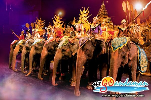 Phuket FantaSea Show (From Phuket, Khao Lak)